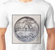Two Rupees Pakistani Coin Unisex T-Shirt