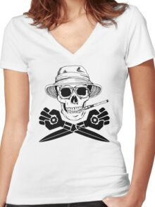 Jolly GONZO Women's Fitted V-Neck T-Shirt