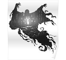 Dementors at Hogwarts Poster
