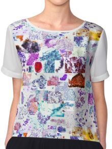 Psychedelic Cytology Chiffon Top