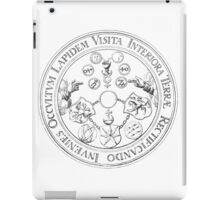 Emerald Tablet - Alchemy - Philosopher's Stone iPad Case/Skin