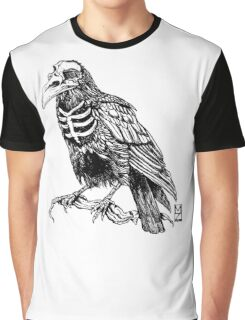 Skelecrow Graphic T-Shirt