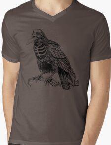 Skelecrow Mens V-Neck T-Shirt