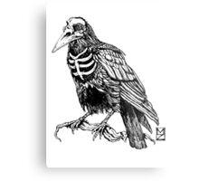Skelecrow Metal Print