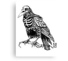Skelecrow Canvas Print