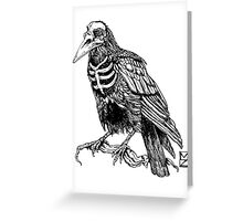 Skelecrow Greeting Card
