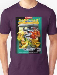 Street Fighter II Sega Cartridge Unisex T-Shirt