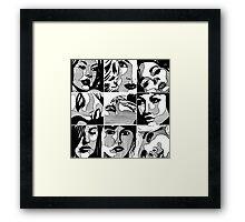 Girls... Framed Print