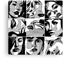 Girls... Canvas Print