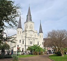 A December Day in Jackson Square by Jennifer  Causley
