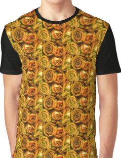 Yellow Roses Graphic T-Shirt