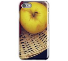 Basket Still Life iPhone Case/Skin