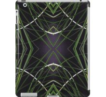 Grassy Curves Repeated iPad Case/Skin