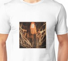 abstract reflection edison bulb Unisex T-Shirt