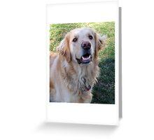 Gracie Girl Greeting Card