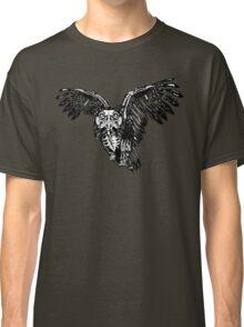 Skeletowl BW Classic T-Shirt