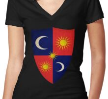 House Tarth Sigil Women's Fitted V-Neck T-Shirt