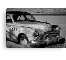 1949 Buick Eight Super I BW Canvas Print
