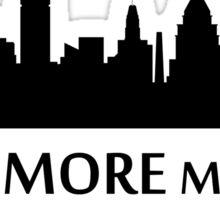 Baltimore Cityscape Skyline Sticker