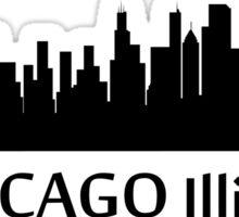 Chicago Cityscape Skyline Sticker