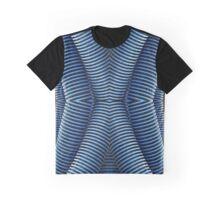 Repeating Vacuum Hose Graphic T-Shirt