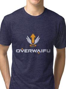 Overwaifu - Mercy (Glow) Tri-blend T-Shirt