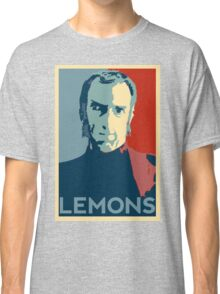 Portal 2 Cave Johnson LEMONS (hope parody) Classic T-Shirt