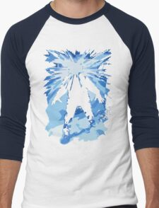 Man is the warmest place to hide ... Men's Baseball ¾ T-Shirt