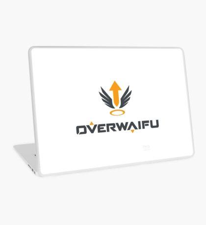 Overwaifu - Mercy (Logo) Laptop Skin