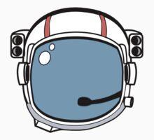 Astronaut Helmet Kids Tee