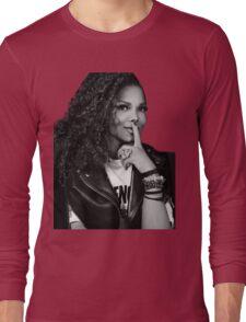 Janet emirates Long Sleeve T-Shirt