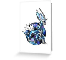 Dialga Greeting Card