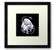 Unicorn Fight! Framed Print