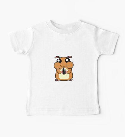 Cartoon Hamster Baby Tee