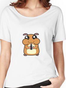 Cartoon Hamster Women's Relaxed Fit T-Shirt