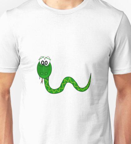 Cartoon Snake Unisex T-Shirt