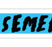Basement logo Sticker