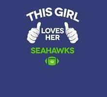 THIS GIRL LOVE HER SEAHAWKS Unisex T-Shirt