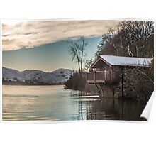 Ullswater Boathouse Poster