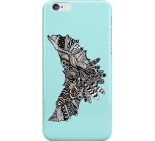 Night Owl in Color iPhone Case/Skin