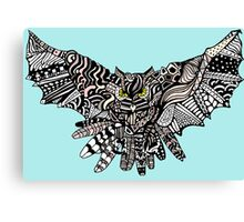 Night Owl in Color Canvas Print