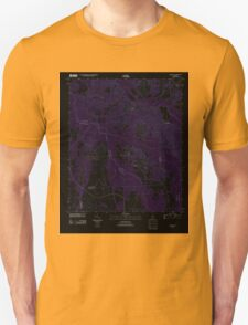 USGS TOPO Map Alabama AL Chesson 20110923 TM Inverted T-Shirt