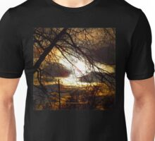 Idaho Trees - Dark Tree Fire Sky - Jeronimo Rubio Photography 2016 Unisex T-Shirt
