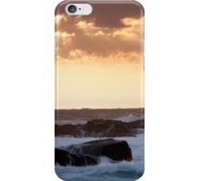 Clouds Break, Monterey CA iPhone Case/Skin
