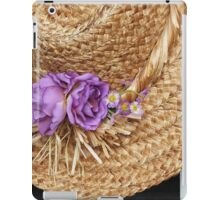 Gardening Hat iPad Case/Skin