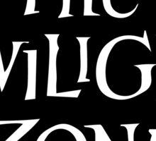 The Twilight Zone logo Sticker