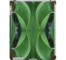 Curving Iris Leaves iPad Case/Skin