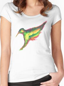 The King Fisher Women's Fitted Scoop T-Shirt