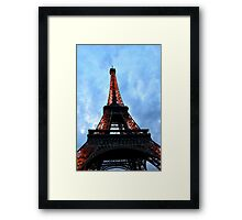Tower Lights Framed Print