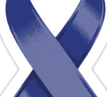 Blue Awareness Ribbon of Support Sticker